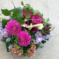 今日も色とりどりのお花たちと一緒にお待ちしています(2020.08.24)