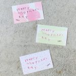 HAPPY MOTHER'S DAY オリジナルのミニカード(2020.04.26)